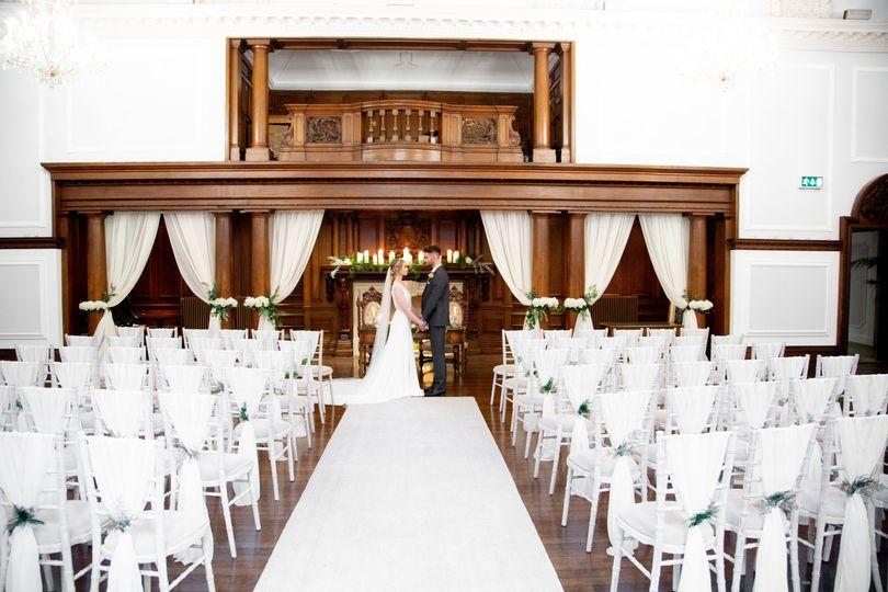Shafto Hall Ceremony Room