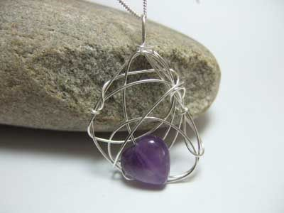 Amethyst and Silver Jewellery