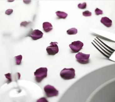 Preserved rose petals