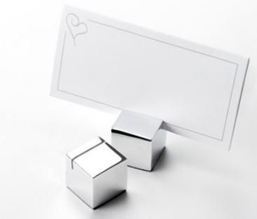Square Place Card Holders Pack of 12