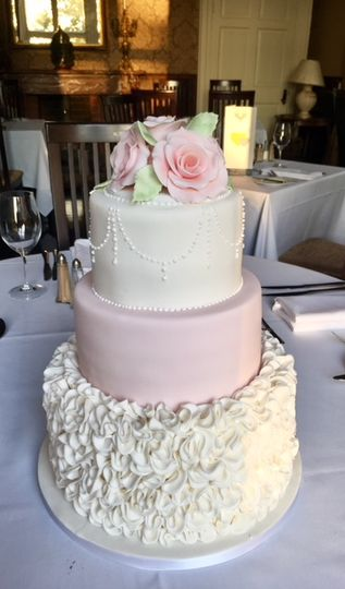 Pink Rose and Ruffle