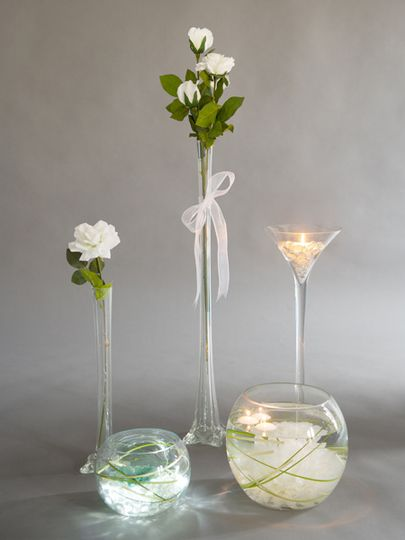 Variety of Centrepieces