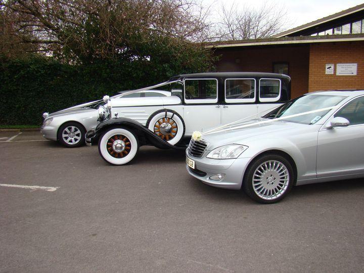 All 3 cars at Ply Regisrar