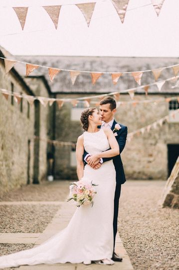 Gold sequins at Doxford Barns