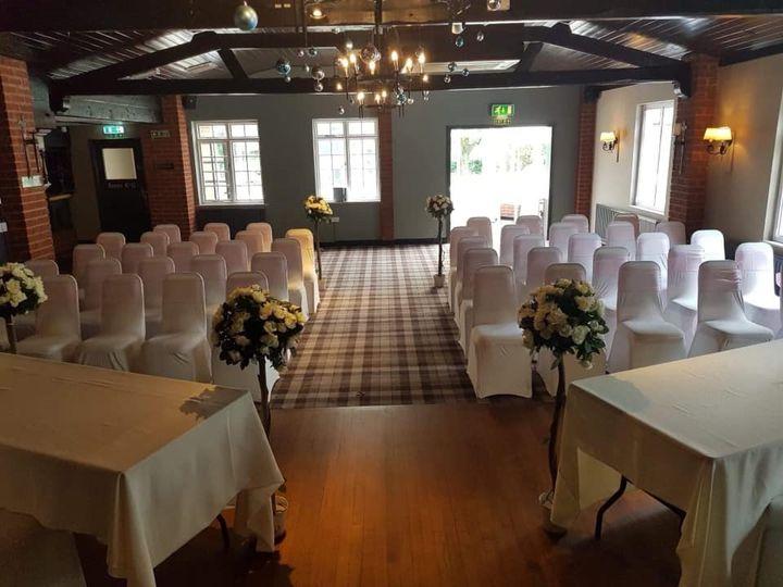 Hastings Suite ceremony