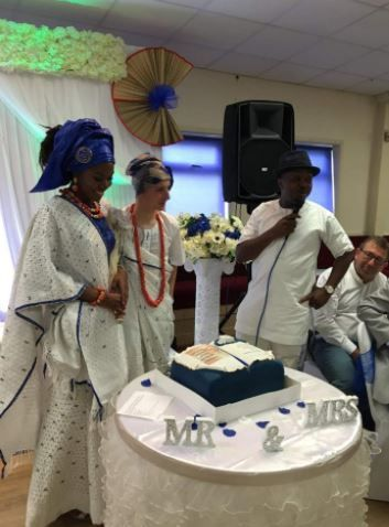 Traditional African marriage ceremony