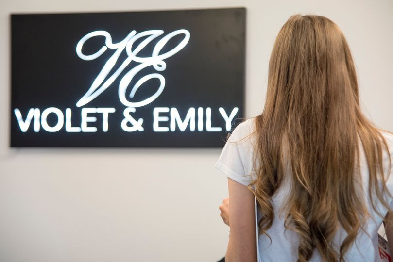 The Violet and Emily Logo