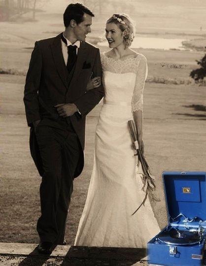 Matfen Hall outdoor wedding