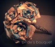 Vintage Wedding paper Bouquet