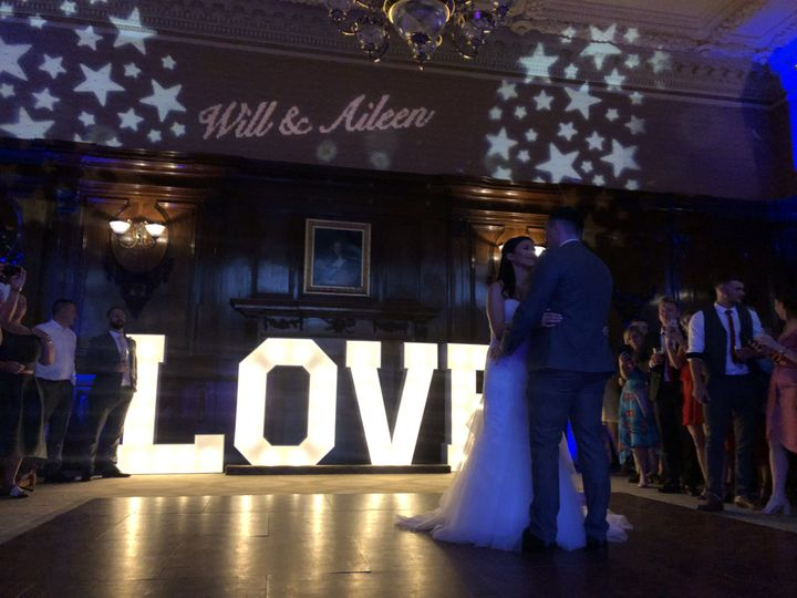 Love light sign@Ashridge house