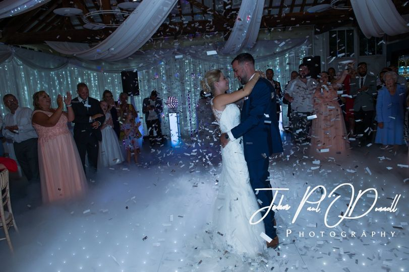 Our Dry ice & Confetti Show