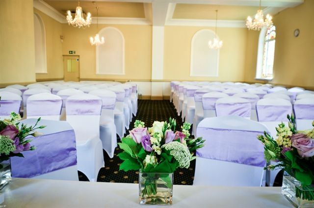 Our beautiful ceremony room