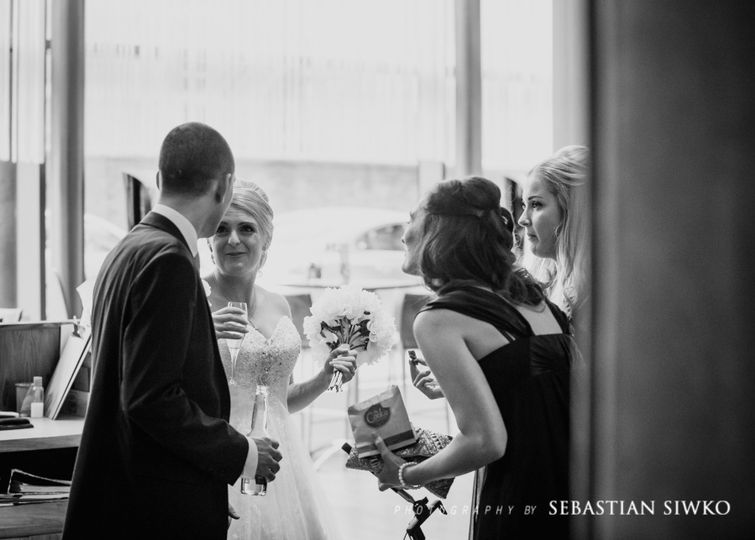 Sebastian Siwko Wedding Photo
