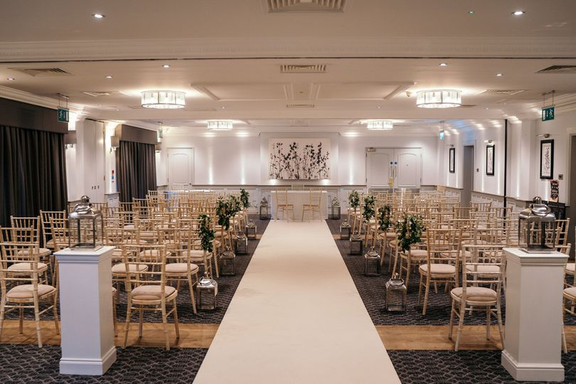 Full Cathedral Suite Ceremony