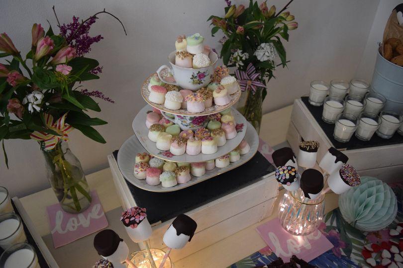 Vintage Marshmallow display