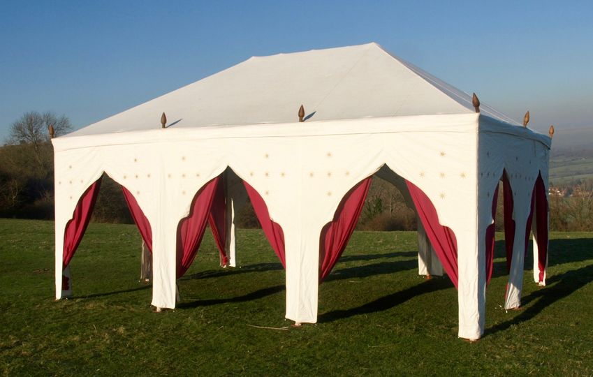 Marquee with arches
