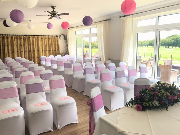 Mid Sussex Golf Club Ceremony Layout