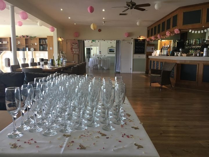 Mid Sussex Golf Club Welcome Drinks