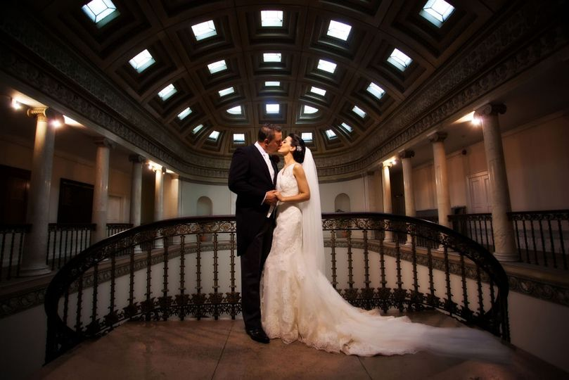 Newlyweds in The Great Hall
