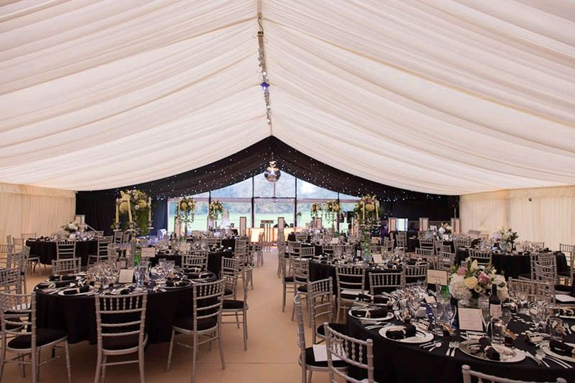 Marquee at Leigh Court