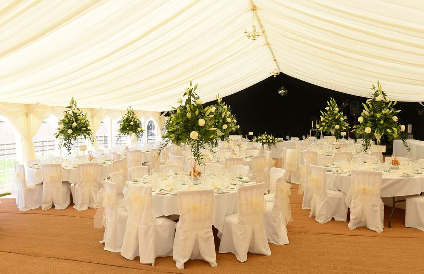 Chair cover & vase hire