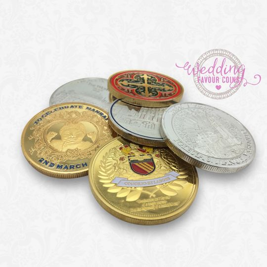 Favours The Wedding Favour Coins 8
