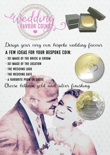 Favours The Wedding Favour Coins 12