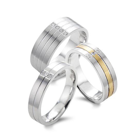 striped bands set with princess diamonds 4 106166