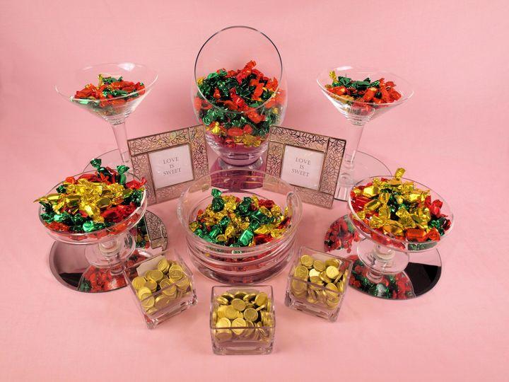 Elegant sweet table