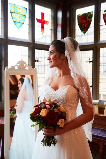 Portrait of the bride - LVRS Photography