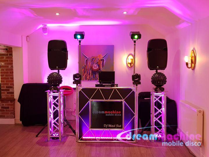 Music and DJs DJ Mitch Fisk - Dream Machine Discos 16