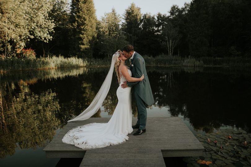 Bride & Groom Lakeside