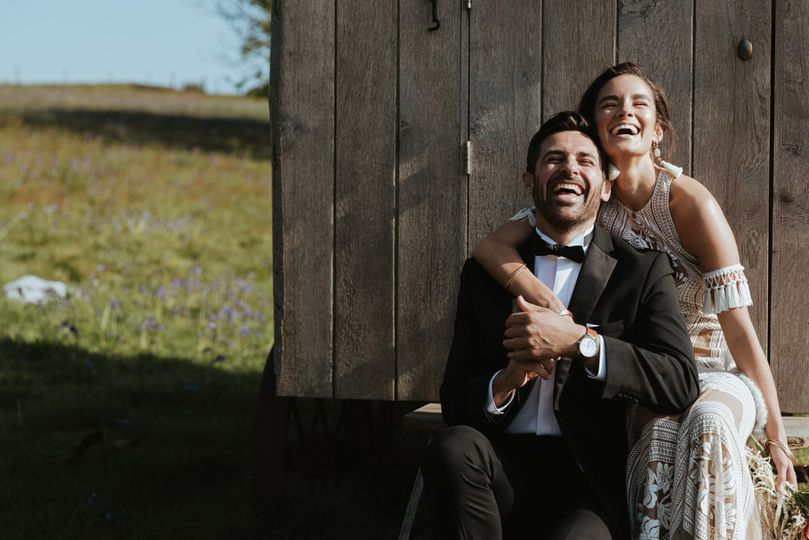 Happiness is here at The Wilderness wedding venue near Canterbury in Kent