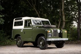 Classic Land Rover Hire