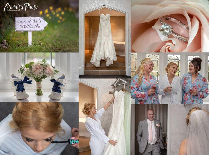 Bridal prep montage