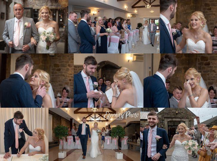Wedding ceremony montage