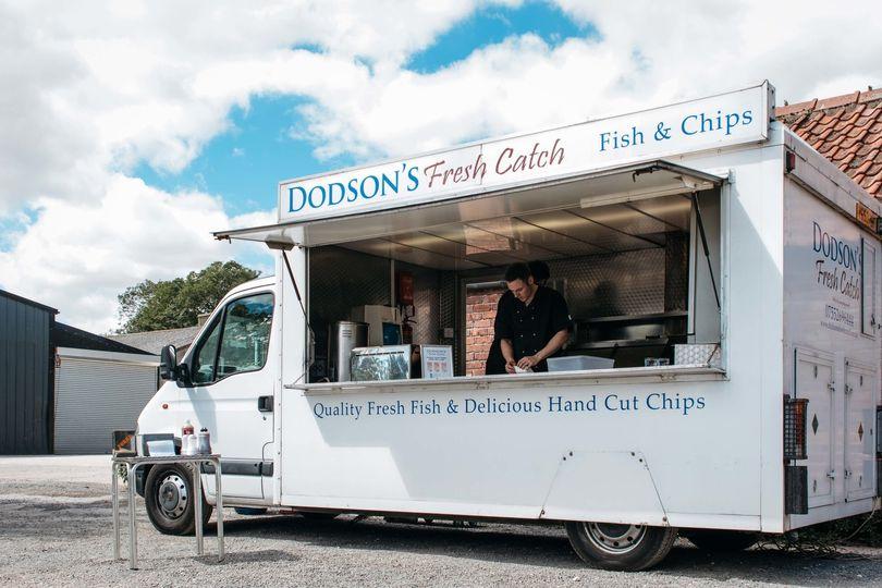 Dodson's Fresh Catch Van