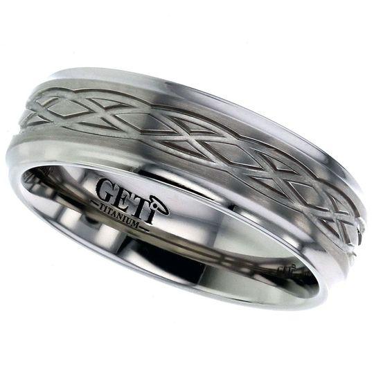 Celtic Titanium ring