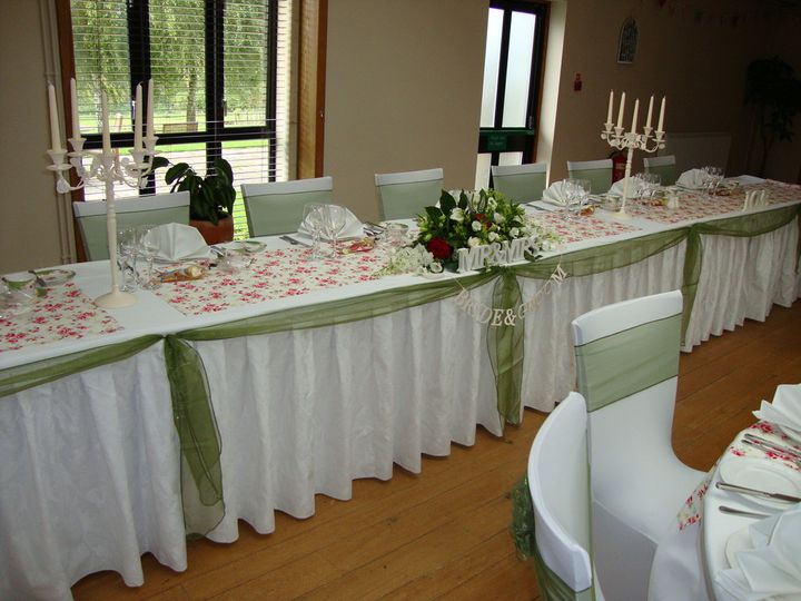 Vintage top table