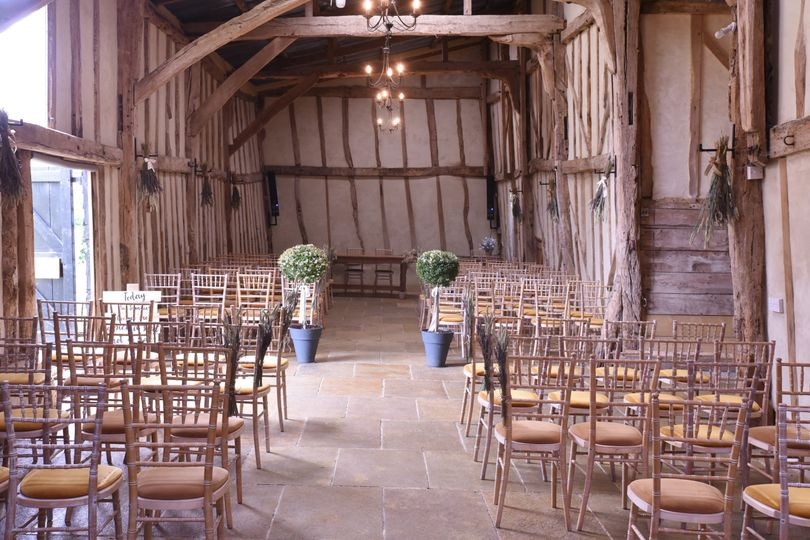 Interior West Barn