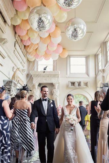 Decorative Hire Bubblegum Balloons 2
