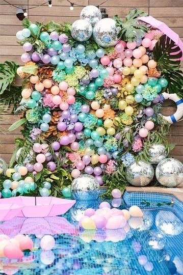 Decorative Hire Bubblegum Balloons 3