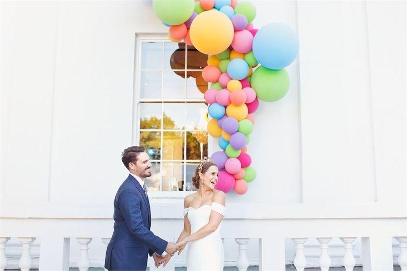 Decorative Hire Bubblegum Balloons 12