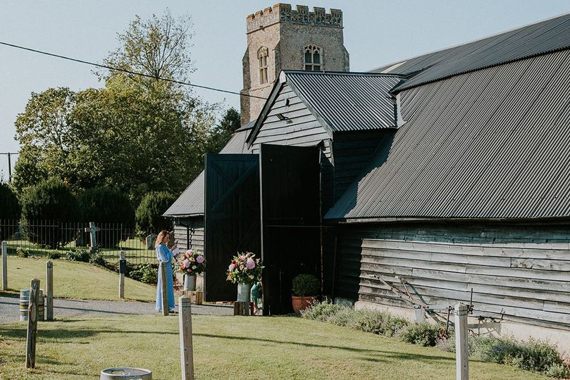 Front of South Barn