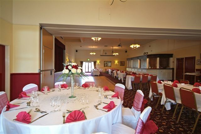 Long, spacious function room