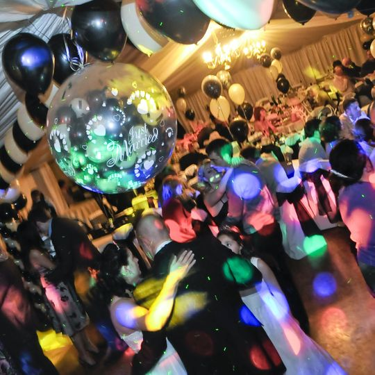 Full Venue Dressing & Disco, Chesterstreet Club, Chesterfield