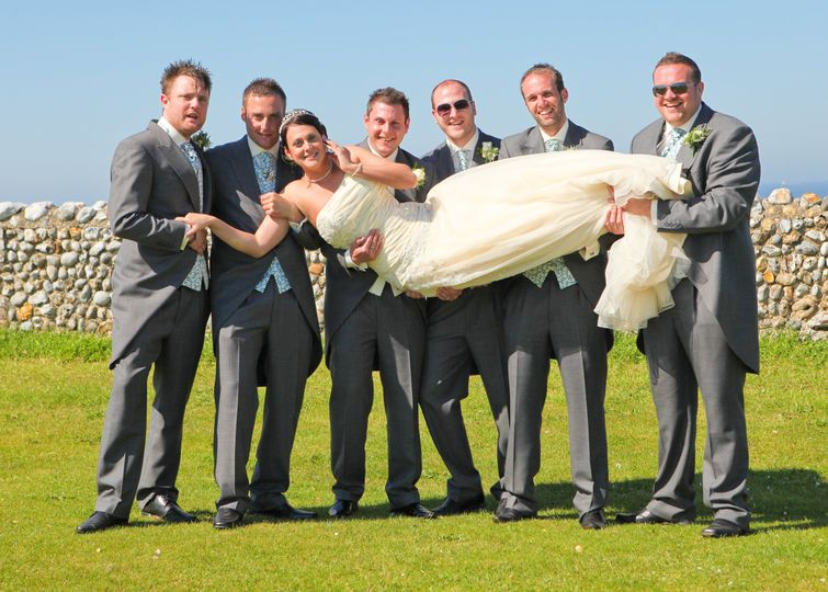 Holding Bride