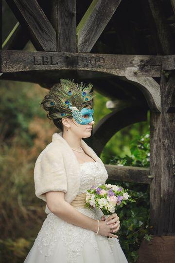 Monsoon peacock mask