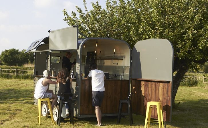 Our lovely horse box