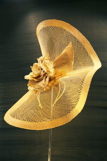 Bespoke Vintage Staw Headpeice